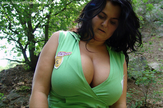 image Big tits deborah in the park